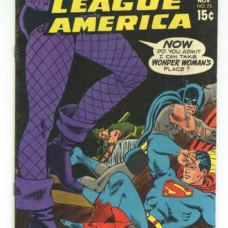 Justice League of America (1960 1st Series) 75 VG/FN 5.0