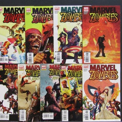 Marvel Zombies Lot of 9