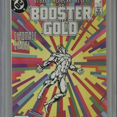 Booster Gold (1986 DC 1st Series) 19 CGC 9.8
