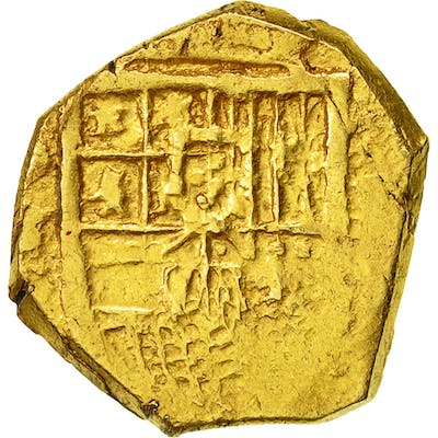 Coin, Spain, Philippe III, Escudo, Seville, VF(20-25), Gold