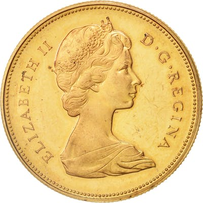 Coin, Canada, Elizabeth II, 20 Dollars, 1967, Royal Canadian Mint, Ottawa