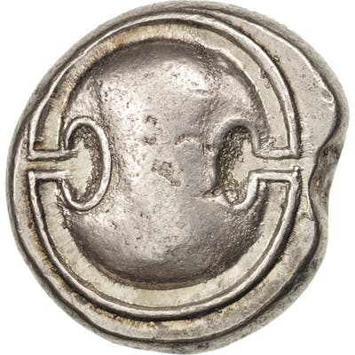 Coin, Boeotia, Stater, Thebes, AU(50-53), Silver