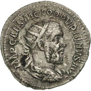 Coin, Pupienus, Antoninianus, Rome, AU(50-53), Billon, RIC:10a