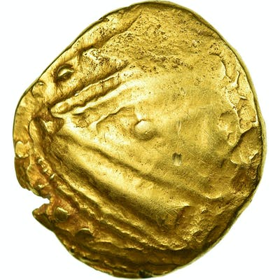 Coin, Remi, Area of Reims, Stater, VF(20-25), Gold, Delestrée:173-4