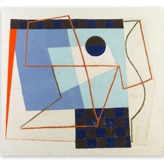 Jeremy Annear - Sonar Blue III - Abstract Painting