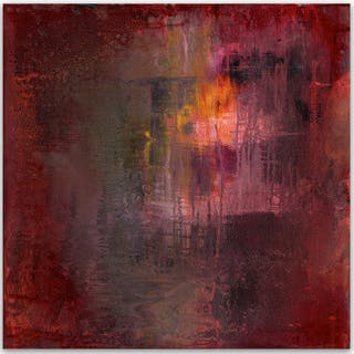 Yari Ostovany - Fragments of Poetry and Silence No. 42 - Abstract Painting