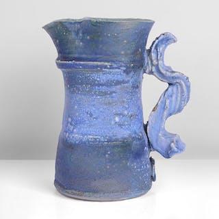 Blue Jug, circa 1980 - Colin Pearson (British, 1923-2007)