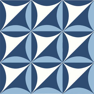 Blu Ponti Decoro Tipo 27 Set of 25 Ceramic Tiles