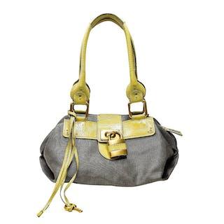 Chloe Paddington Lock Key Leather Satchel Handbag fcf653df70ea5
