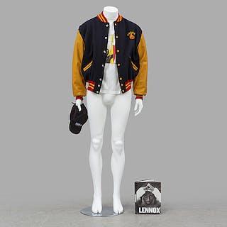 LENNOX LEWIS, DeLong Kronk team jacket från 2002