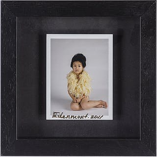 NATHALIA EDENMONT, photograph, signed and dated 2011.