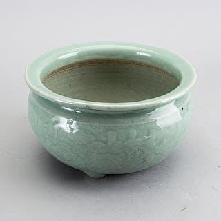 RÖKELSEKAR Kina sen Qingdynasti (1644-1912) porslin
