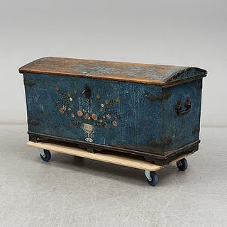 KISTA, allmoge, daterad 1865.
