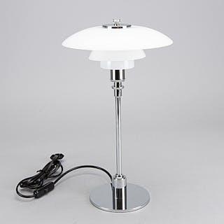 """TABLE LAMP, """"PH 2/1"""", Poul Henningsen, Louis Poulsen, Denmark."""