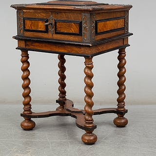 A baroque chest, early 18th century.