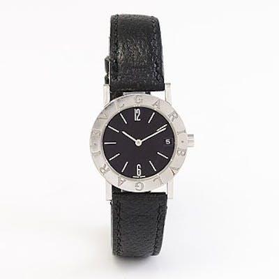 BULGARI, wristwatch from 1998, 30 mm.