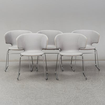A set of five 'Taormina' armchairs for Alias.