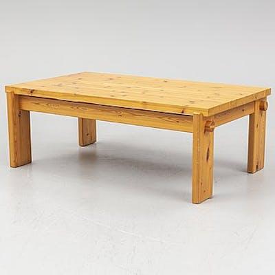 Yngve EkstrÖm A Pine Coffee Table Swedese Barnebys