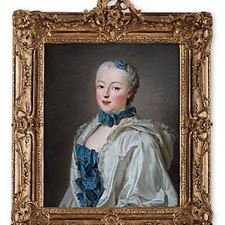Alexander Roslin, Portrait depicting Françoise Marguerite de Sévigné