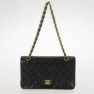 CHANEL, Double Flap Bag.