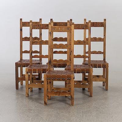 Sex Möbler