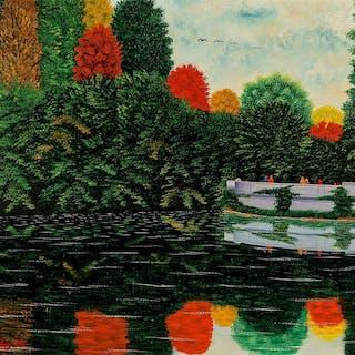 Camille Bombois, Reflets d'Automne - Autumn Reflections (1930)