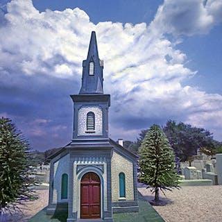 Robert Funk, Church and Graveyard (1973)