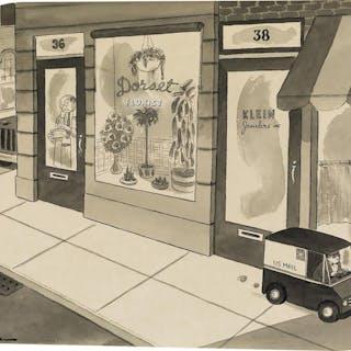 Charles Addams, Mini Mail Truck (ca. 1970)