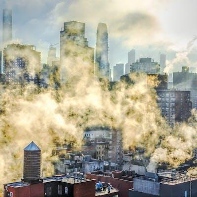 Mitchell Funk,  New York is Smoking  (2017)
