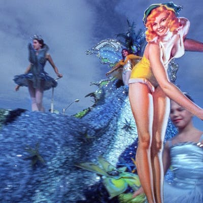 Robert Funk, Fairy Parade: Coral Gables (1975)