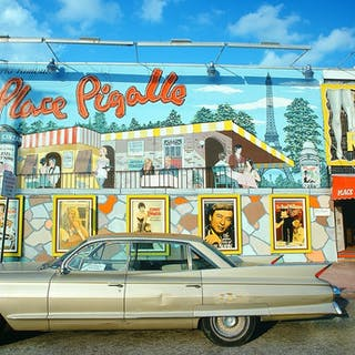 Mitchell Funk, Place Pigalle, Miami Beach (1974)