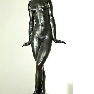 Francois Emile Popineau, Danseuse — Femme nue (1927)