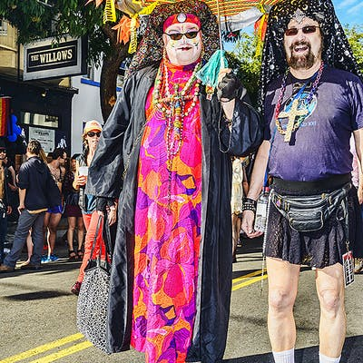 Mitchell Funk, Folsom Street Fair, BDSM Leather Event #27 (2015)