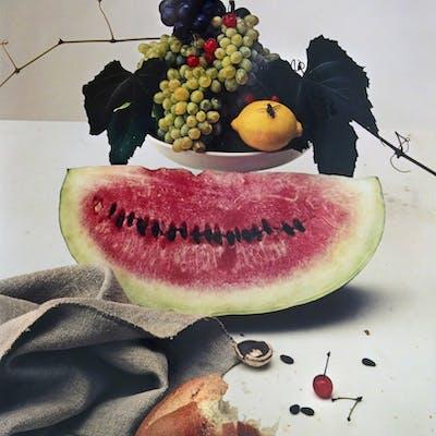 Irving Penn, Still life with Watermelon, NY.  (1948)