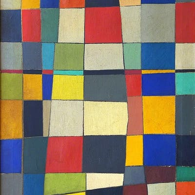 Robert Goodnough, Squares (ca. 1952)