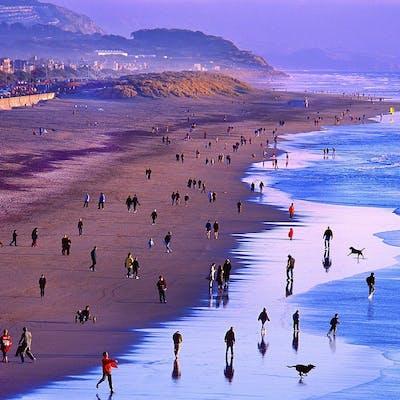 Mitchell Funk, Ocean Beach, San Francisco (2002)