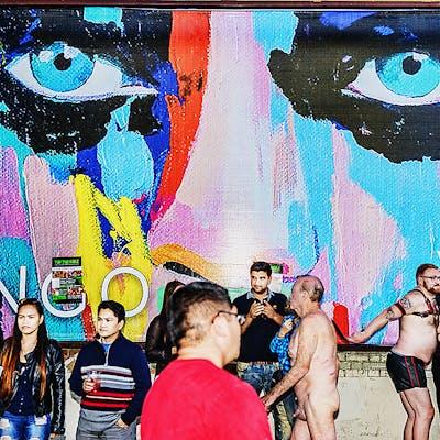 Mitchell Funk, Folsom Street Fair,  BDSM  Leather Event #13 (2015)