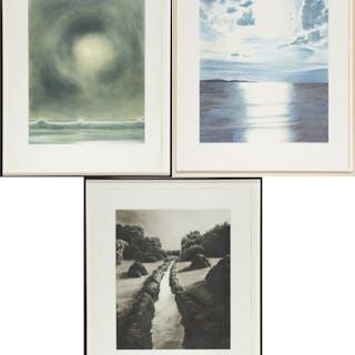 Sea Light (aka Paris Review), Sun and Storm, Water Path - April Gornik