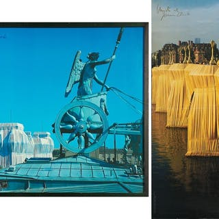 Wrapped Reichstag, The Pont  Neuf Wrapped, Paris 1975-1985, Wrapped