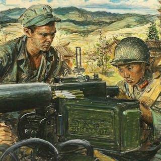 Martha Sawyers, Art Journalism -War Lessons, Magazine Illustration