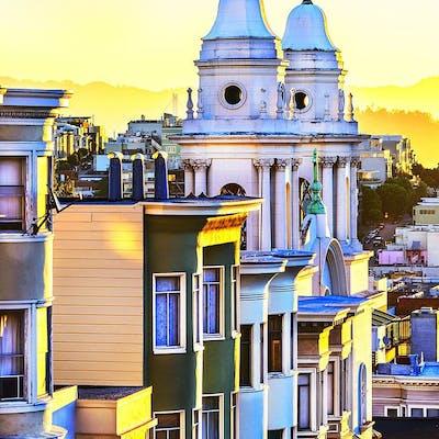 Mitchell Funk, San Francisco lemon yellow  light  (2015)