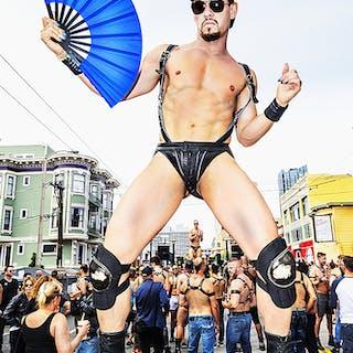 Mitchell Funk, Folsom Street Fair, BDSM Leather Event #36 (2015)