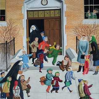 Lorraine Fox, Children at School, Magazine Illustration (1950-1960)