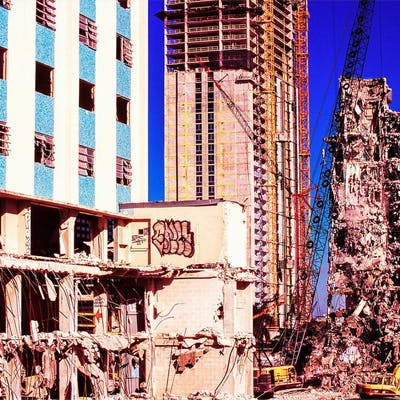 Mitchell Funk, Broken Building Miami (1999)