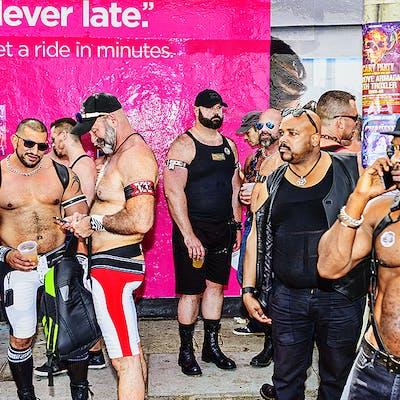 Mitchell Funk, Folsom Street Fair, BDSM Leather Event #41 (2015)