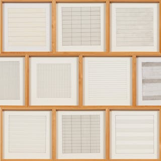 Paintings and Drawings : Stedelijk Museum Portfolio - Agnes Martin