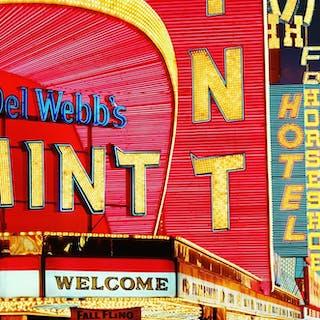 Mitchell Funk, Las Vegas, Del Webb's Mint (1976)