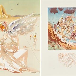 Return of Ulysses/Helen of Troy from Hommage à  Homère - Salvador Dalí