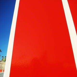 Mitchell Funk, Las Vegas Red Wall (1975)