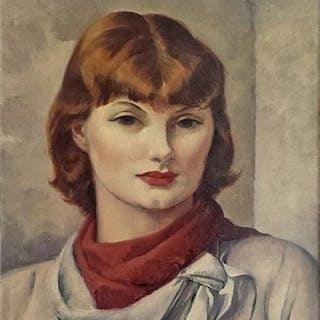 Leon Kroll, Miss Carolyn Edmunson (1935)